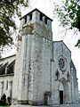 Montpezat-de-Quercy - Collégiale Saint-Martin - Façade 01.jpg