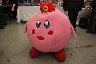 Kirby (series) - Cosplay of Kirby as Mario in 2014