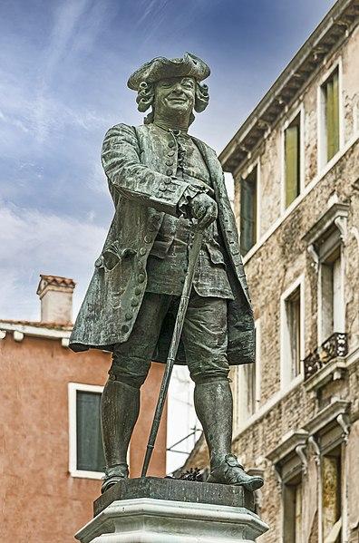 File:Monument to Carlo Goldoni (Venice).jpg