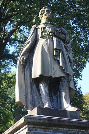 John Mossman - Monument to Rev Patrick Brewster, Woodside Cemetery, Paisley by John G. Mossman