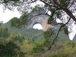 Moon Hill - Moon Hill seen from below