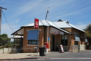 Morgan, South Australia - Image: Morgan Post Office