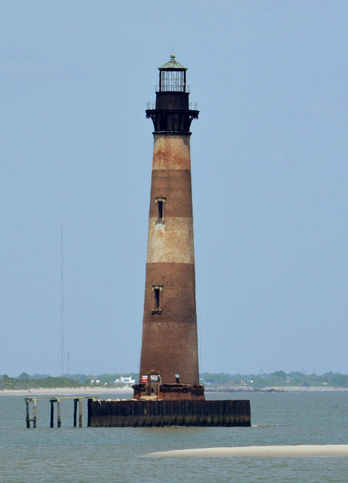 Morris Island Lighthouse Near Myrtle Beach Sc