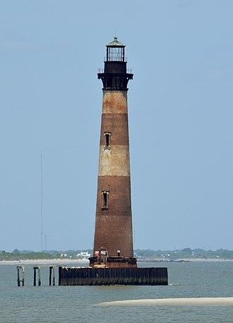 Morris Island Light - Morris Island Lighthouse