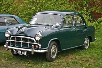 Hindustan Ambassador - 1955 Morris Oxford series III was launched in India in 1957 as Ambassador Mark I