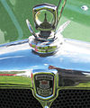 Morris twelve four reg dec 1934 1550 cc name badge crop.jpg