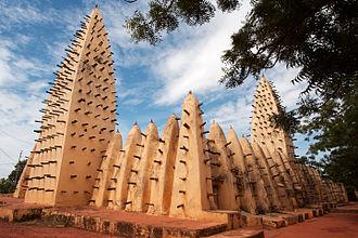 Bobo-Dioulasso - Bobo Dioulasso Grand Mosque