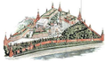 Moscow Kremlin map - Tsarskaya Tower.png