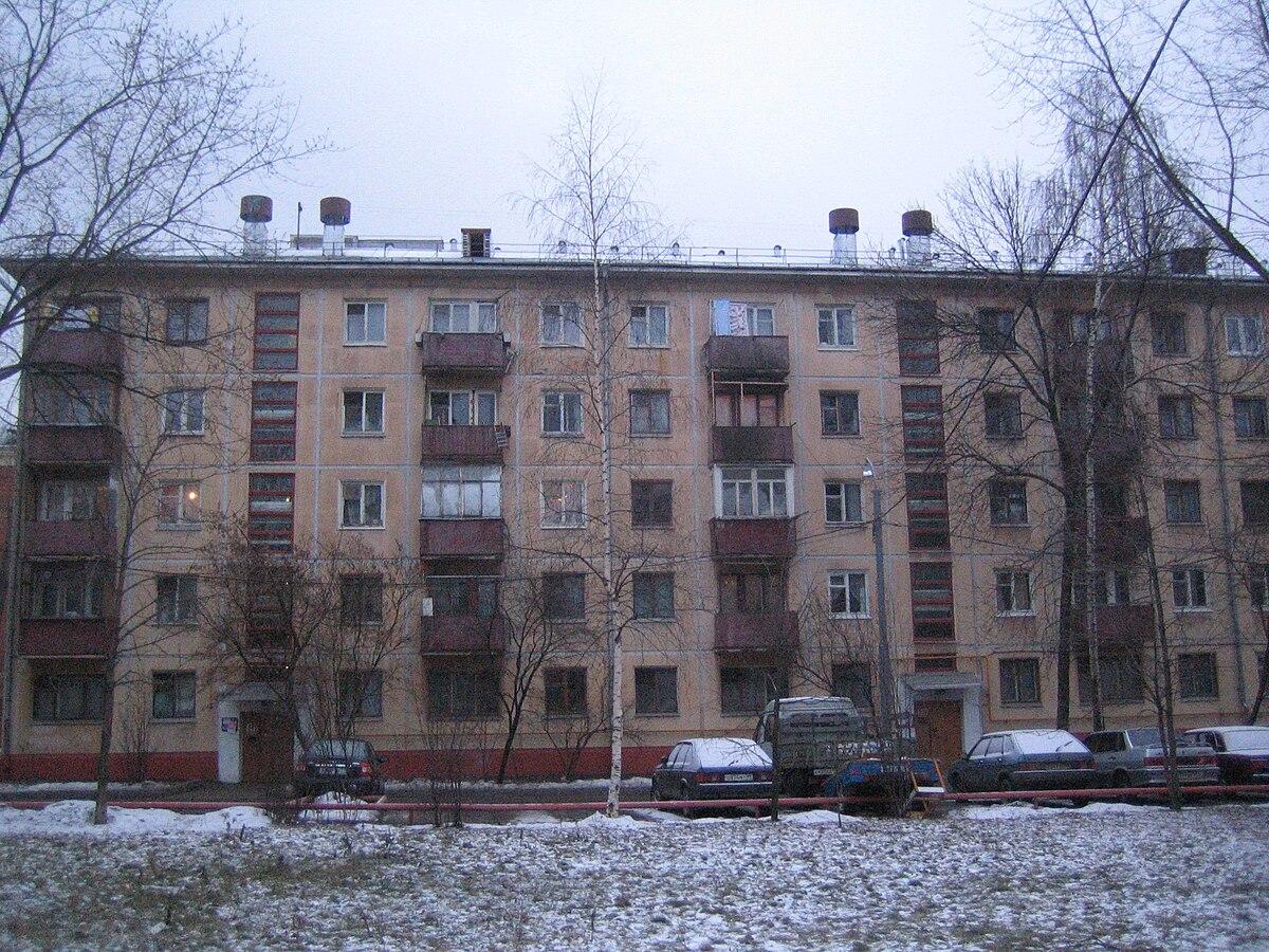 Крупопанельные жилые дома серии 464