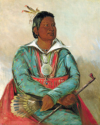 Treaty of Dancing Rabbit Creek - Mosholatubbee sought to be elected to the Congress of the United States. 1834, Smithsonian American Art Museum.