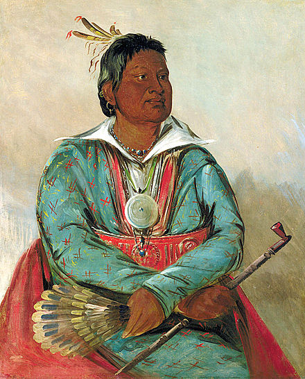 In 1830 Mosholatubbee sought to be elected to the Congress of the United States. 1834, Smithsonian American Art Museum Mosholatubbee.jpg