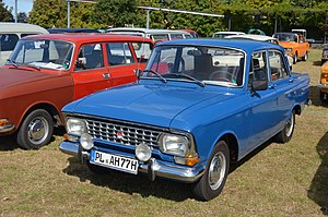 Moskvitch 408 - Moskvitch-408 second series