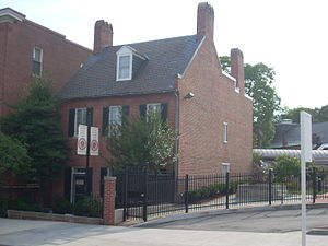 History of the French in Baltimore - Mother Seton House, August 2011
