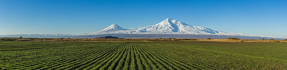 Mount Ararat and the Araratian plain (panorama).jpg