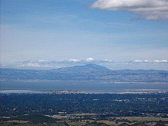 Windy Hill Open Space Preserve - Image: Mount Diablo from Windy Hill