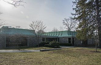 Mount Pleasant, New York - Mount Pleasant Public Library main branch