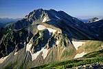 Mount Tate from Mount Betsu 1995-08-20.jpg