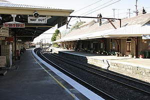 Image result for mount victoria train station