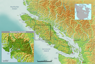 Mowachaht/Muchalaht First Nations - Territories claimed by the Mowachaht/Muchalaht