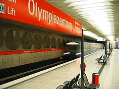 Munich subway Olympiazentrum.jpg