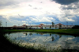 Murray Baker Bridge - Image: Murray Baker Bridge (East Peoria)