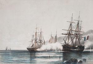 Argentina–France relations - Battle of Vuelta de Obligado.