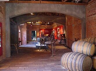 Enotourism - Wine museum at Graffigna, San Juan, Argentina