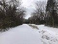 Muskogee snowstorm 2021-02-15 Centennial Trail NE.jpg