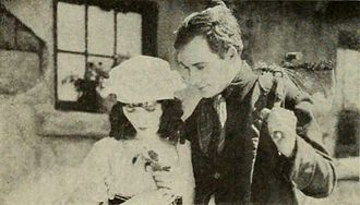 Pat O'Malley (actor) - O'Malley with Pauline Starke in My Wild Irish Rose (1922)