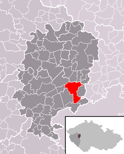 Location of Mýto