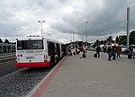 Nádraží Veleslavín, autobus 119 ve výstupní zastávce.jpg
