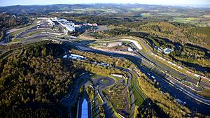 2016 6 Hours of Nürburgring - The Nürburgring GP-Strecke, where the race was held.