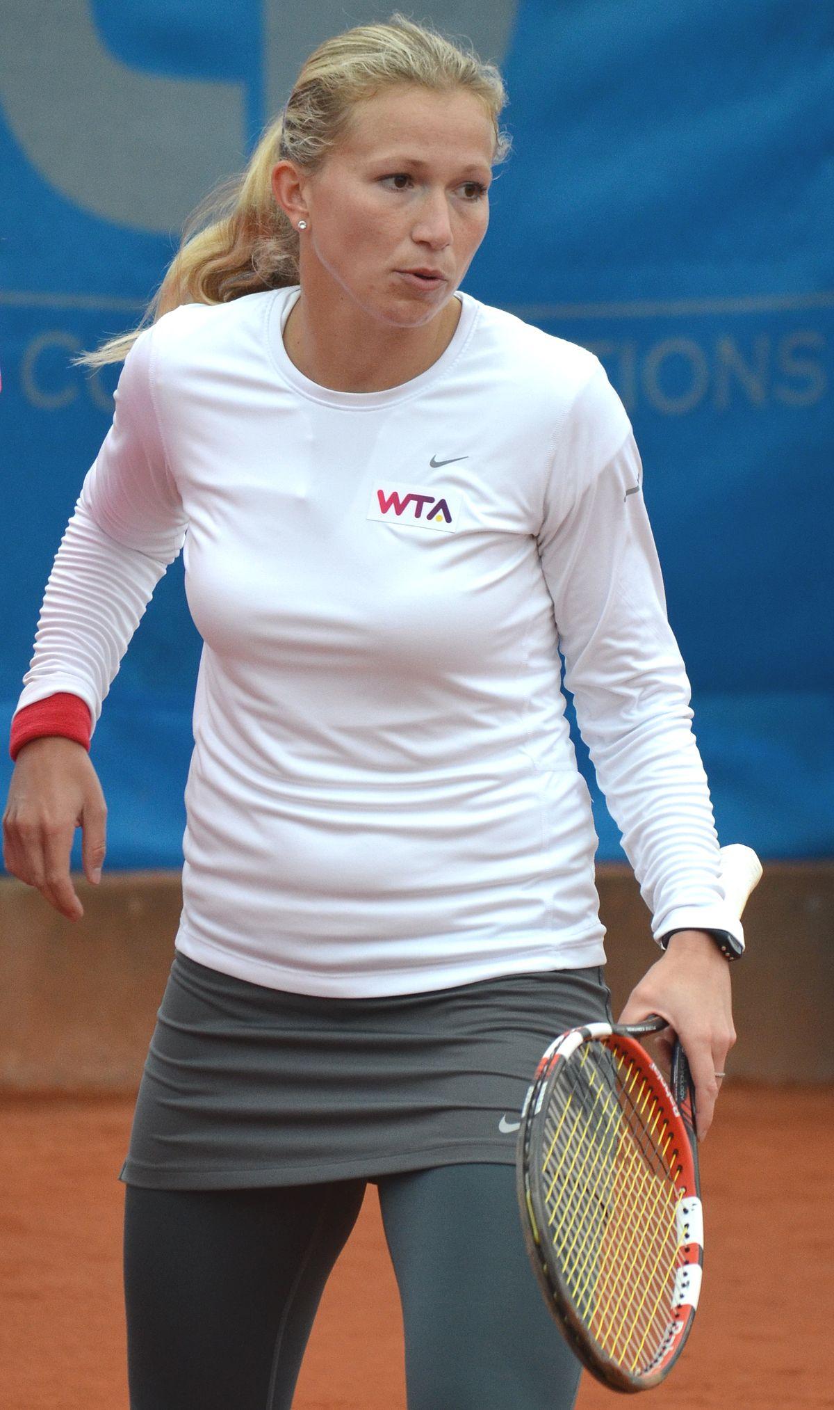 Michaëlla Krajicek earned a  million dollar salary - leaving the net worth at 1.5 million in 2018