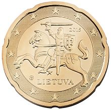The Lithuanian 20 Euro Cent Coin
