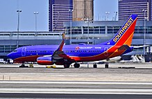 "N241WN Southwest Airlines Boeing 737-7H4 (cn 32504-1965) ""Live In The Vineyard"" (8046252331).jpg"