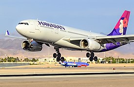 "N381HA Hawaiian Air Airbus A330-243 - 381 (cn 1114) ""Hokule'a"" (10452512105).jpg"
