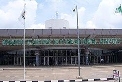 NAIA Abuja Terminal Entrance.jpg