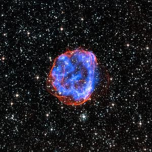 Supernova - A supernova remnant