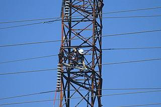 Lightning arrester Device used to switch a lightning strike