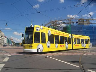 Trams in Dessau