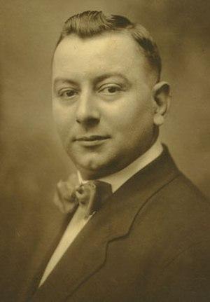 Alcide Nunez - Portrait of Alcide Nunez, 1918