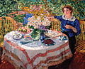 Nadezhda Gilyarovskaya by A.M.Gerasimov (1912, Michurinsk museum).jpg