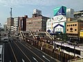 Nagasaki-Ekimae Station and Japan National Route 202 from south side.JPG