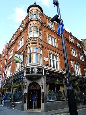 Philip Pilditch - The Nag's Head, Covent Garden, a pub he designed.