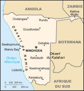 Carte Afrique Du Sud Namibie.Frontiere Entre L Afrique Du Sud Et La Namibie Wikipedia