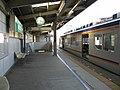 Nankai Kishizatotamade Station platform - panoramio (1).jpg
