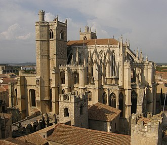 Ancient Diocese of Narbonne - Cathedral of St-Just, Narbonne