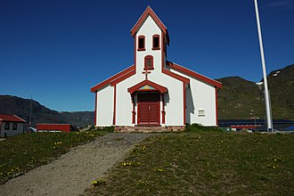 Narsaq - Church in Narsaq