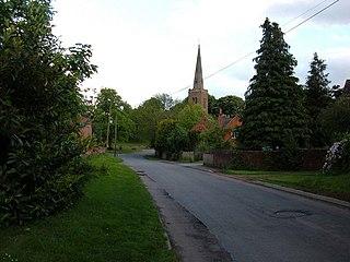 Naseby Human settlement in England