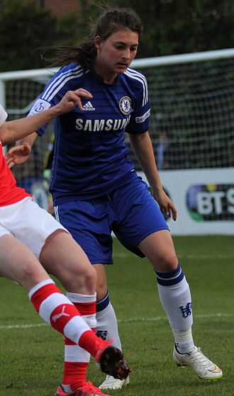 Hannah Blundell - Blundell playing for Chelsea in 2015